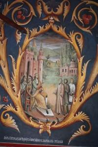 Царь Петр I издает указ  постройке каменного храма